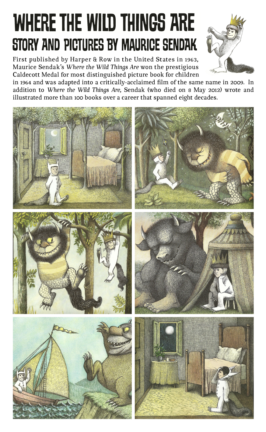where the wild things are compare and contrast Vb k9 compare and contrast similarities and differences between properties of objects (sol k1, k4) language arts objectives 1 vb k3 respond to.